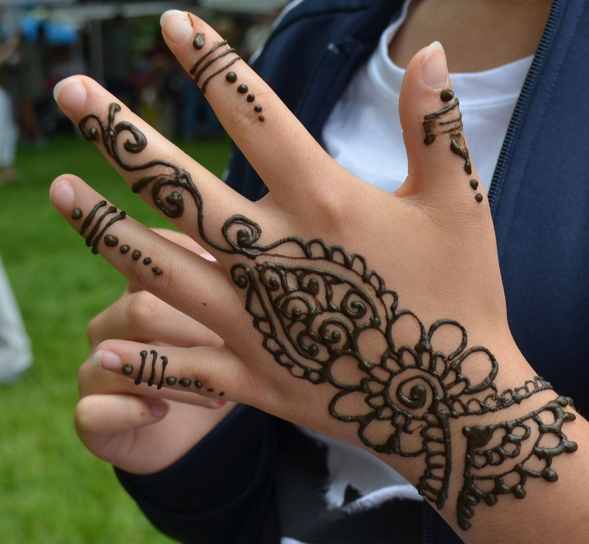 Fun Zone, Henna Painting 3