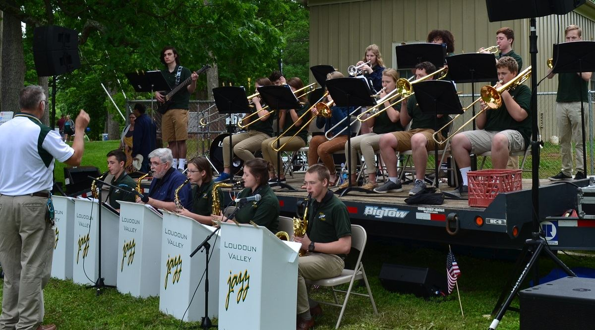 Music, Loudoun valley Jazz band